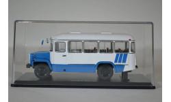 Пригородный автобус КАвЗ-3976 (бело-голубой), масштабная модель, 1:43, 1/43, Start Scale Models (SSM)