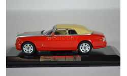 ROLLS-ROYCE PHANTOM Drophead Coupe 2007 Red, масштабная модель, IXO Road (серии MOC, CLC), 1:43, 1/43