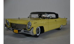 Lincoln Continental Mark III - Closed convertible - Deauville Yellow 1958