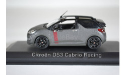 CITROËN DS3 Cabrio Racing Salon de Frankfort 2014, масштабная модель, Norev, scale43