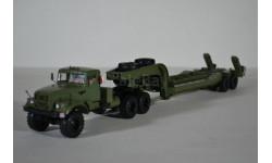 КРАЗ-255В с полуприцепом ЧМЗАП-5247Г, масштабная модель, Start Scale Models (SSM), 1:43, 1/43