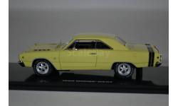 Dodge Dart GTS - sunfire yellow 1968, масштабная модель, Highway 61, 1:43, 1/43