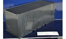 контейнер 20Ft, запчасти для масштабных моделей, КамАЗ, AVD Models, 1:43, 1/43