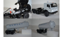 КАМАЗ-54112 с полуприцепом-цементовозом ТЦ-11, масштабная модель, 1:43, 1/43, Start Scale Models (SSM)
