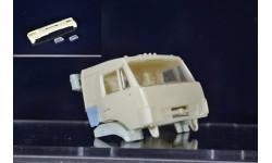 сборные модели: бампер+ фары - камаз рестайлинг, сборная модель автомобиля, ЛХЛ, scale43
