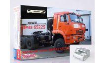 Сборная модель бампер к  КАМАЗ-65225 до рестайлинг, сборная модель автомобиля, ИВ, 1:43, 1/43