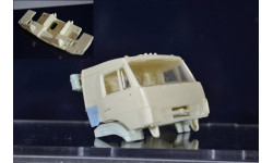 Сборные модели: Днище + дверные карты на Камаз без спальника  (ссм, пао, аист), сборная модель автомобиля, ЛХЛ, 1:43, 1/43