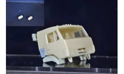 сборные модели: фары-1 коплект - камаз рестайлинг, сборная модель автомобиля, ЛХЛ, scale43