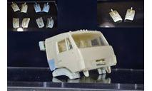 Сборные модели: крылья - камаз рестайлинг, сборная модель автомобиля, ИВ, 1:43, 1/43