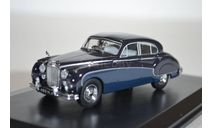Jaguar Mk.VIII 1957 IndigoCotswold Blue, масштабная модель, Oxford, scale43