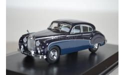 Jaguar Mk.VIII 1957 IndigoCotswold Blue, масштабная модель, Oxford, 1:43, 1/43
