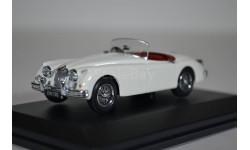 Jaguar XK150 Roadster 1957 Old English White, масштабная модель, Oxford, 1:43, 1/43