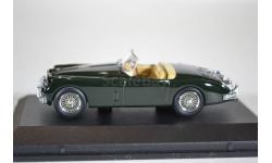 JAGUAR XK150 British Racing Roadster 1957 Green, масштабная модель, Oxford, scale43
