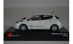 Nissan LEAF 2010 White, масштабная модель, J-Collection, 1:43, 1/43