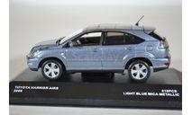 Toyota HARRIER AIRS 2007 LEXUS RX (LIGHT BLUE METALLIC), масштабная модель, J-Collection, scale43