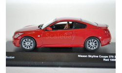 Nissan SKYLINE COUPE 370 2008 (RED), масштабная модель, Kyosho, 1:43, 1/43