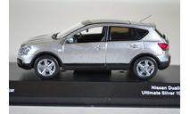 Nissan QASHKAIDUALIS (URBAN CEMENT SILVER) RHD, масштабная модель, J-Collection, scale43