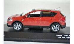 Nissan QASHKAIDUALIS (COPPER) RHD, масштабная модель, J-Collection, scale43