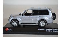 Mitsubishi Pajero Super Exceed (Cool Silve Metallic), масштабная модель, Kyosho, scale43