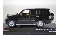 Mitsubishi Pajero Super Exceed (Black Mica), масштабная модель, Kyosho, 1:43, 1/43