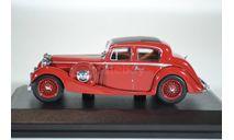 Jaguar SS 2.5 Saloon Maroon 1937, масштабная модель, Oxford, 1:43, 1/43