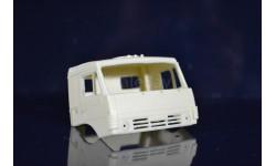 сборные модели: кабина - камаз 1