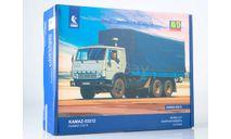 Сборная модель КАМАЗ-53212 бортовой с тентом, сборная модель автомобиля, AVD Models, 1:43, 1/43