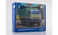 Сборная модель КАМАЗ-53501 6x6 Мустанг, сборная модель автомобиля, AVD Models, 1:43, 1/43