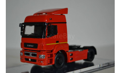 КАМАЗ-5490 седельный тягач (красный), масштабная модель, 1:43, 1/43, ПАО КАМАЗ