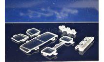 Комплект стёкол на  Tatra-815S1(ссм, аист), запчасти для масштабных моделей, КамАЗ, ИВ, 1:43, 1/43