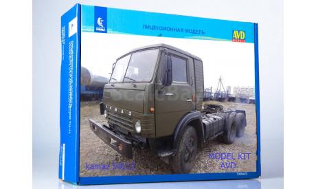 Сборная модель Камаз 54112, сборная модель автомобиля, AVD для SSM, scale43