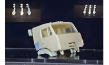сборные модели: кронштейн крепления запаски - камаз рестайлинг, сборная модель автомобиля, ИВ, 1:43, 1/43
