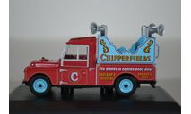 Land Rover Land Rover 109 1959 цирк Chipperfield, масштабная модель, Oxford, 1:43, 1/43