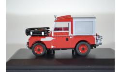 Land Rover 88 Fire Appliance 1955 (пожарный фургон), масштабная модель, Oxford, 1:43, 1/43