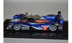 PEUGEOT 908 #9 S.BOURDAIS – S.PAGENAUD – P.LAMY LMP1 2nd Le Mans 2011, масштабная модель, IXO, scale43