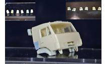 сборные модели: крышка инструментального ящика 2 шт (кабина) - камаз рестайлинг, сборная модель автомобиля, ИВ, 1:43, 1/43