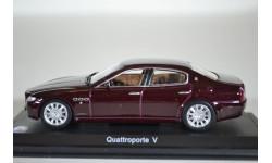 Maserati Quattroporte V 2003 бордовый, масштабная модель, Leo Modes, 1:43, 1/43