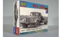 Сборная модель седельный тягач МАЗ - 200В, сборная модель автомобиля, AVD Models, 1:43, 1/43