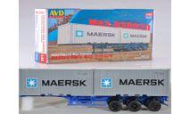 Сборная модель Полуприцеп-контейнеровоз МАЗ-938920, сборная модель автомобиля, AVD Models, 1:43, 1/43