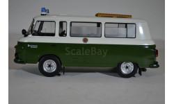 MCG18009 BARKAS B1000 Bus VOLKSPOLIZEI 1965 зеленый, масштабная модель, IST Models, scale18