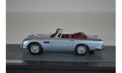 ASTON MARTIN DB5 Cabriolet 1964 Metallic Light Blue, масштабная модель, Matrix, scale43