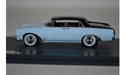 LANCIA Aurelia B56 Florida Berlina Pininfarina 1956 BlueBlack, масштабная модель, Matrix, scale43