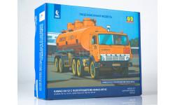 Сборная модель КАМАЗ-54112 с полуприцепом НЕФАЗ-96742, сборная модель автомобиля, AVD Models, 1:43, 1/43