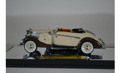 Maybach SW38 2-doors sport 1937 бежевый коричневый, масштабная модель, Signature, 1:43, 1/43