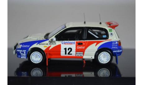 Nissan Pulsar GTI-R 1992 RAC Rallye #12 Blomqvist  Melander, масштабная модель, Norev, scale43