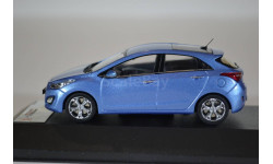 HYUNDAI I30 2012 Blue, масштабная модель, Premium X, 1:43, 1/43