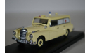 Mercedes-Benz 300 D - Ambulance 1961 скорая помощь, масштабная модель, RIO, 1:43, 1/43