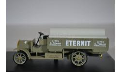 FIAT 18 BL AUTOCARRO Impresa edile 1916 зеленый с трубами в кузове