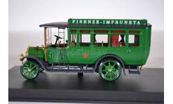 FIAT 18 BL – Autobus 1915 Firenze-Impruneta, масштабная модель, RIO, scale43