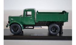 ЯАЗ-205 самосвал, (зеленый), масштабная модель, Автомобиль в деталях (by SSM), 1:43, 1/43